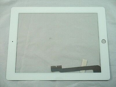 Lcd Led Screen Glass For Apple Ipad 3 White A1416 A1430 A...