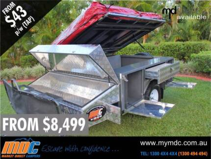 MDC T-Box Camper Trailer Coopers Plains Brisbane South West Preview