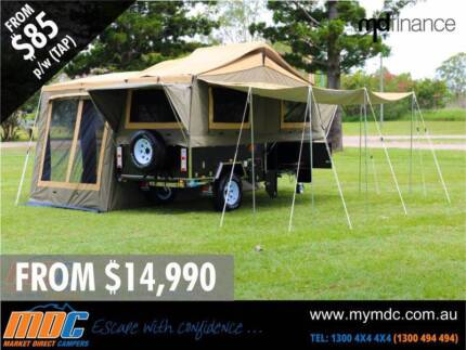 NEW OFFROAD FORWARD FOLD HARDFLOOR CAMPER TRAILER 4X4 4WD HARD Garbutt Townsville City Preview