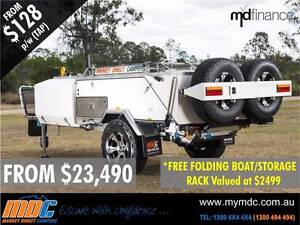 NEW OFFROAD REARFOLD HARDFLOOR CAMPER TRAILER 4X4 4WD HARD SALE Kunda Park Maroochydore Area Preview