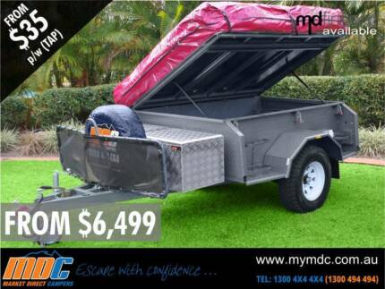 NEW EXPLORER SOFT FLOOR OFFROAD CAMPER TRAILER 4X4 4WD ROAD SALE Somerton Hume Area Preview
