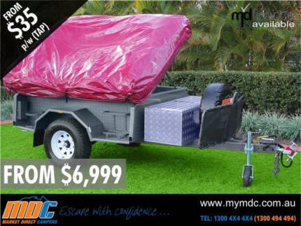 NEW EXPLORER SOFT FLOOR OFFROAD CAMPER TRAILER 4X4 4WD ROAD SALE Condell Park Bankstown Area Preview