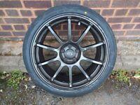 Rota G Force 18x8.5 + Tyres