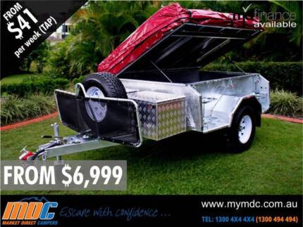 NEW MDC GALVANISED OFFROAD CAMPER TRAILER 4X4 4WD ROAD SALE Somerton Hume Area Preview
