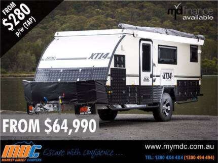 NEW MDC XT-14 OFFROAD HYBRID CARAVAN SALE - CAMPER TRAILER PARK Coopers Plains Brisbane South West Preview