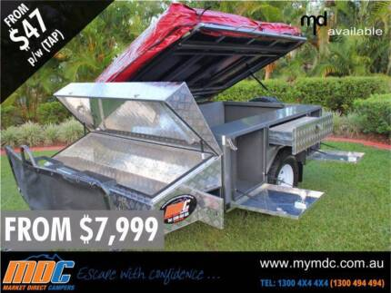 NEW MDC T-BOX CAMPER TRAILER 4X4 TENT 4WD OFFROAD SALE ROAD Garbutt Townsville City Preview