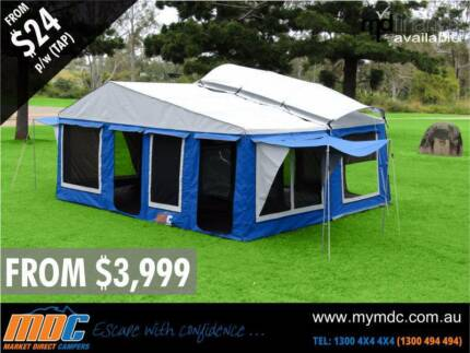 BRAND NEW MDC TRAVELLER CAMPER TRAILER 4X4 TENT 4WD ROAD SALE Burton Salisbury Area Preview