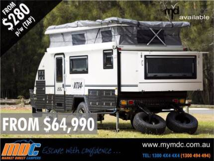 NEW 2014 MDC XT14 Extreme OFF ROAD Caravan Coopers Plains Brisbane South West Preview