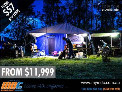 NEW MDC STEPTHROUGH CAMPER TRAILER 4X4 TENT 4WD OFFROAD SALE ROAD Somerton Hume Area Preview