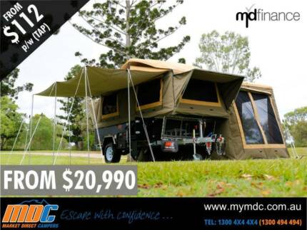 EXPEDITION SERIES OFFROAD FORWARD FOLD HARDFLOOR CAMPER TRAILER Coopers Plains Brisbane South West Preview
