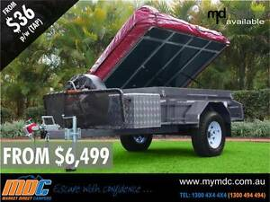 NEW MDC OFFROAD DELUXE CAMPER TRAILER 4X4 TENT 4WD ROAD SALE Coopers Plains Brisbane South West Preview