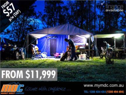 NEW MDC STEPTHROUGH CAMPER TRAILER 4X4 TENT 4WD OFFROAD SALE ROAD Garbutt Townsville City Preview