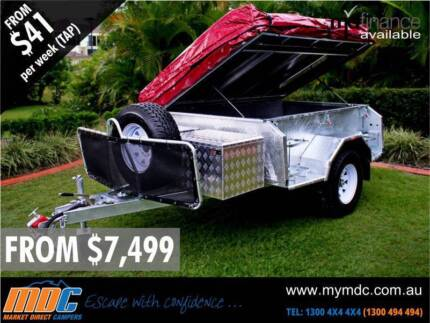SALE NEW MARKET DIRECT GALVANISED OFFROAD CAMPER TRAILER 4X4 MDC Campbellfield Hume Area Preview