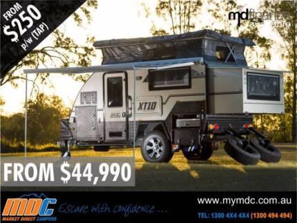 Market Direct Campers 2015 XT10DB Off Road Hybrid Touring Caravan Kunda Park Maroochydore Area Preview