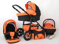 Baby Pram Pushchair Future 3in1 Stroller Buggy Travel System/Car Seat FREEBIES