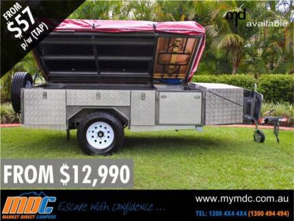 NEW MDC STEPTHROUGH CAMPER TRAILER 4X4 TENT 4WD OFFROAD SALE ROAD Condell Park Bankstown Area Preview