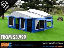 BRAND NEW MDC TRAVELLER CAMPER TRAILER 4X4 TENT 4WD ROAD SALE Garbutt Townsville City Preview