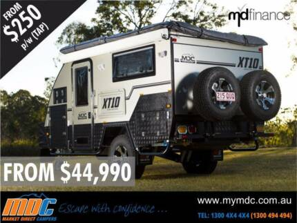 NEW MDC XT-10DB OFFROAD HYBRID CARAVAN SALE - CAMPER TRAILER PARK Condell Park Bankstown Area Preview
