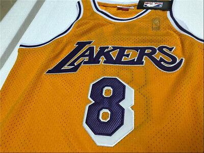Kobe Bryant #8 Los Angeles Lakers Swingman Jersey Yellow