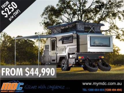 Market Direct Campers 2015 XT-10 Off Road Hybrid Touring Caravan Kunda Park Maroochydore Area Preview