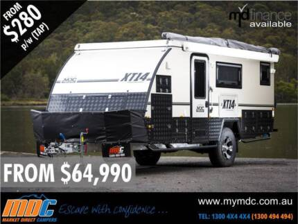 MDC XT-14 Expedition Series 2 or 4-Berth Hybrid Offroad Caravan Coopers Plains Brisbane South West Preview