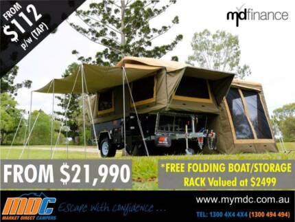 MDC Cruizer Forward Fold Highside Camper Trailer Coopers Plains Brisbane South West Preview