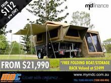 NEW OFFROAD FORWARD FOLD HARDFLOOR CAMPER TRAILER ROAD 4X4 4WD Kunda Park Maroochydore Area Preview
