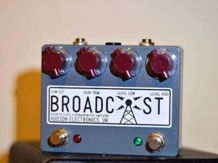 Hudson Broadcast Dual Footswitch Drive Pedal