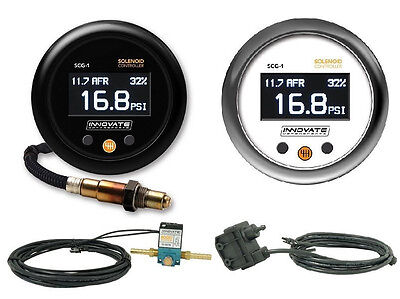 Innovate Motorsports SCG-1 Solenoid Boost Controller & Wideband O2 AFR Gauge Kit for sale  Shipping to South Africa