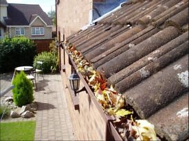 Gutters cleaned and sealed