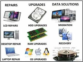 LAPTOP, COMPUTER, IPAD, PHONE,TV & PRINTER REPAIRS ETC... PROFESSIONAL SERVICE, TRAINED TECHNICIANS
