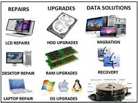 LAPTOP, COMPUTER, IPAD, PHONE,TV & PRINTER REPAIRS ETC... PROFESSIONAL SERVICE, TRAINED TECHNICIANS