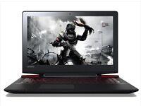 "GAMING LENOVO IDEAPAD Y700-15ISK 15.6"" Intel Core i7 6700HQ 16GB RAM 512 GB SSD 1TB HDD Win 10 PRO"
