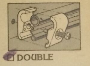 """MADE 4 YOU PRODUCTS DUAL LINE CLAMP FOR 5/16"""" & 3/8"""" LINES Belleville Belleville Area image 2"""