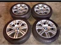 17 alloys,Bmw alloys,Bmw wheels,alloys,m sport alloys,