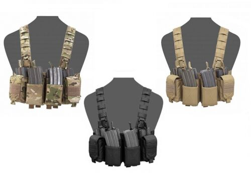 WARRIOR ASSAULT SYSTEMS ELITE OPS PATHFINDER CHEST RIG MULTICAM COYOTE TAN
