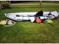 Kayak Sea Eagle fast track two person full kit all you need bargain excellent condition