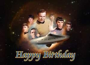Star Trek, frosting sheet, cake top, edible print topper