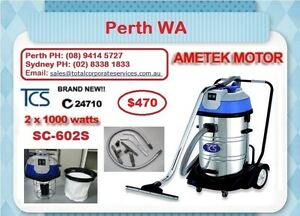 60Lt Wet & Dry Vacuum Cleaner 2000W STEEL BODY--Perth Aubin Grove Cockburn Area Preview