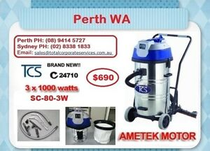 80L Wet & Dry Vac Cleaner with Floor Squeegee/ PERTH Aubin Grove Cockburn Area Preview