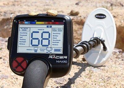 MAKRO GOLD RACER (56 kHz) STANDART PACKAGE + Free Rain Covers
