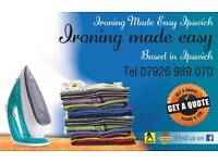 Ironing made easy ipswich/ ironing service