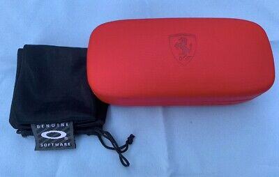 Rare Oakley Scuderia Ferrari Red Sunglass Case