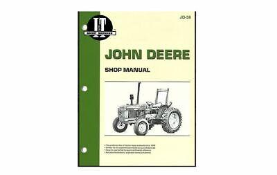 It Shop Manual Fits Jd 58 Fits John Deere 2150 2155 2255 2350 2355 2550 2555