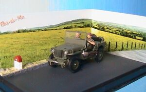 diorama jeep manoeuvre militaire rn6 la tour du pin ixo 1 43 lyon chambery. Black Bedroom Furniture Sets. Home Design Ideas