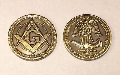 """2"""" Masonic Coin"""