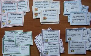 54 Bloom's Reading Response Task Cards - Teacher Resources