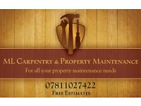 Carpenter, Handyman, Property Maintenance