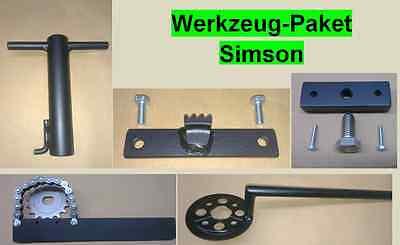 Simson Spezialwerkzeug Set, Werkzeugpaket, Werkzeug S51, S70 Kr51 Sr50 etc.