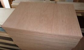 5 Pieces of NEW 18mm Premium Quality Marine Ply 29½in x 19in (750mm x 480mm)